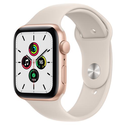 Apple Watch SE 44 mm OLED Goud GPS