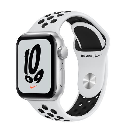 Apple Watch SE Nike 40 mm OLED Zilver GPS