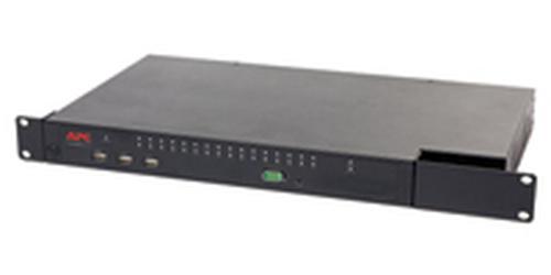 APC KVM 2G 1U Zwart KVM-switch