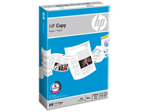 HP Copy Paper 80g/m2 A4 500 sheets 5-pack A4 (210×297 mm) Mat papier voor inkjetprinter
