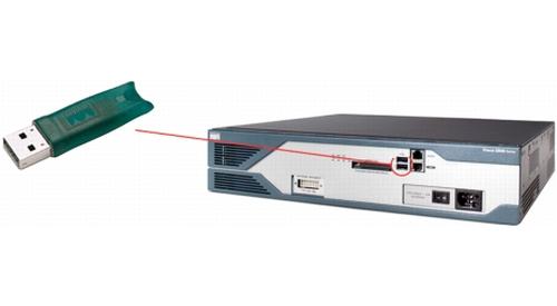 Cisco 4GB USB 4096MB 1stuk(s) netwerkapparatuurgeheugen