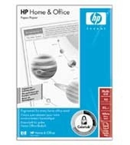 HP Home and Office Paper, 80 gr/m², A4/210 x 297 mm/5x500 vel papier voor inkjetprinter Mat