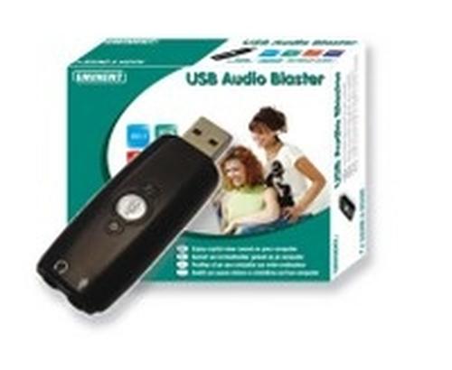 Eminent EM3751 USB Audio Blaster interfacekaart/-adapter