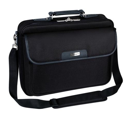 """Targus CN01 notebook case 40.6 cm (16"""") Messenger case Black"""