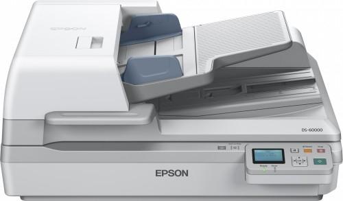 Epson WorkForce DS-60000N Flatbed & ADF scanner 600 x 600DPI A3 White