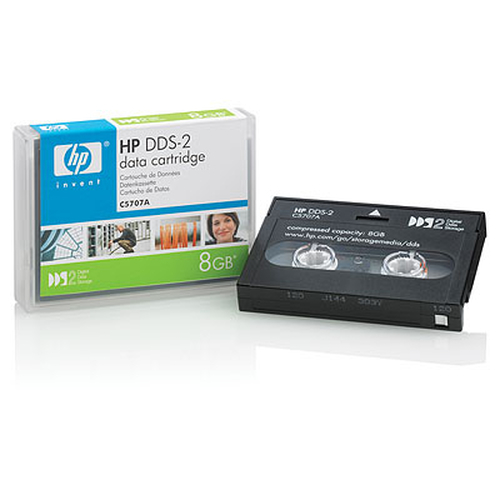 Hewlett Packard Enterprise DDS-2 8 GB Data Cartridge (120m) DAT 4 GB 4 mm