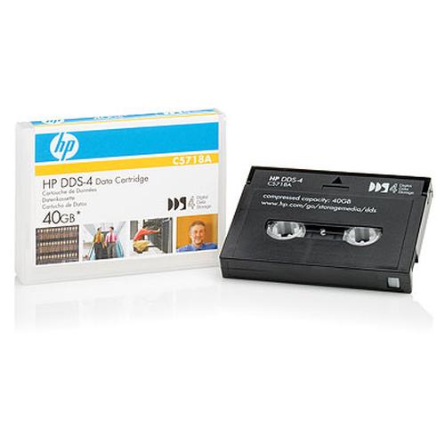 Hewlett Packard Enterprise C5718A lege datatape DAT 20 GB 4 mm