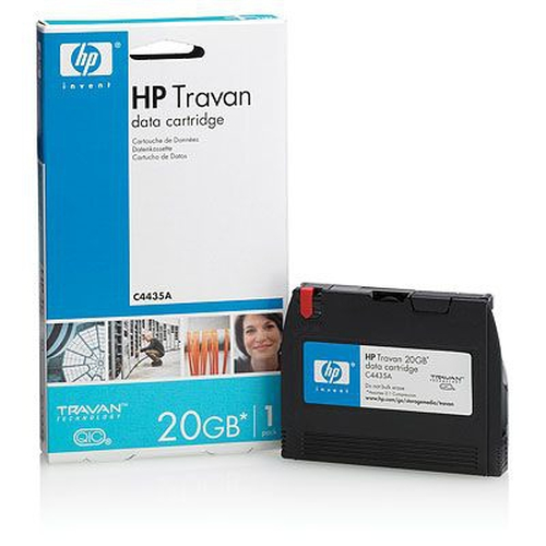 Hewlett Packard Enterprise 20GB Tapecassette 8 mm