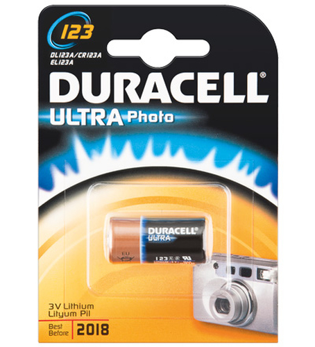 Duracell CR123A 1-BL Ultra Wegwerpbatterij Lithium