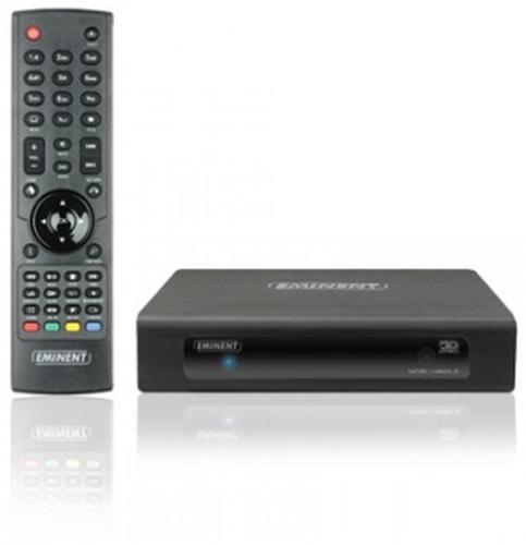 Eminent EM7380 digitale mediaspeler Zwart Full HD 1920 x 1080 Pixels