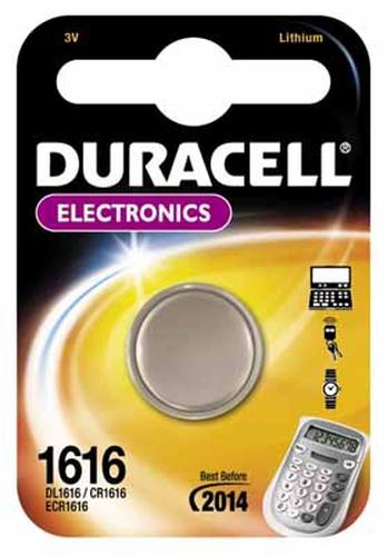 Duracell CR1616 3V Lithium 3V niet-oplaadbare batterij