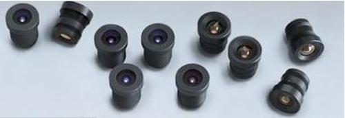 Axis Lens M12 MP 6mm 10 Pack Zwart