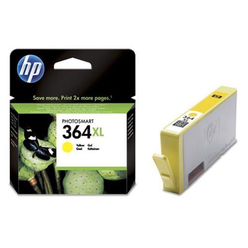 HP 364XL Yellow Ink Cartridge yellow ink cartridge