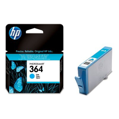 HP 364 inktcartridge 1 stuk(s) Origineel Normaal rendement Cyaan