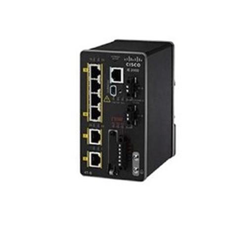 Cisco IE-2000-4T-L Managed network switch L2 Fast Ethernet (10/100) Zwart netwerk-switch