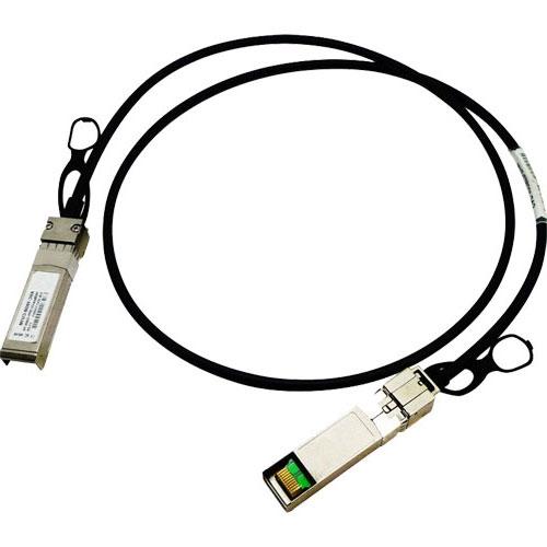 IBM SFP+, 0.5m 0.5m Black networking cable
