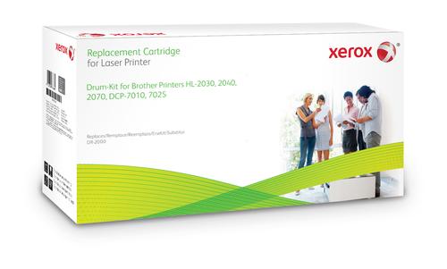 Xerox Drumcartridge. Gelijk aan Brother DR2000. Compatibel met Brother DCP-7010/DCP-7020, HL-2030, 2040, 2070N, INTELLIFAX 2820/