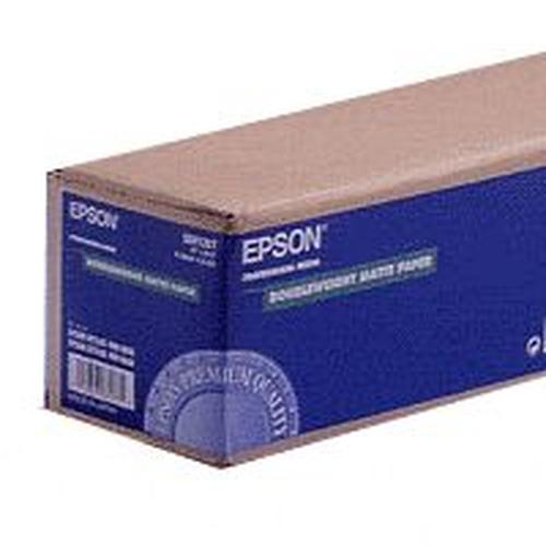 "Epson Doubleweight Matte Paper Roll, 44"" x 25 m, 180g/m²"