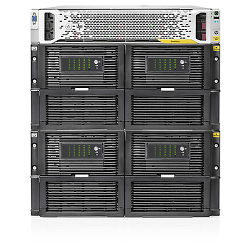 Hewlett Packard Enterprise StoreOnce 4900 60TB Backup Base System 60000GB Rack (7U) Black,Stainless steel disk array
