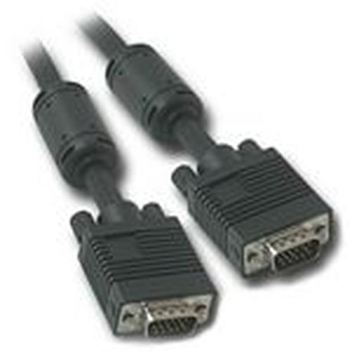 C2G 0.5m Monitor HD15 M/M cable VGA kabel 0,5 m VGA (D-Sub) Zwart