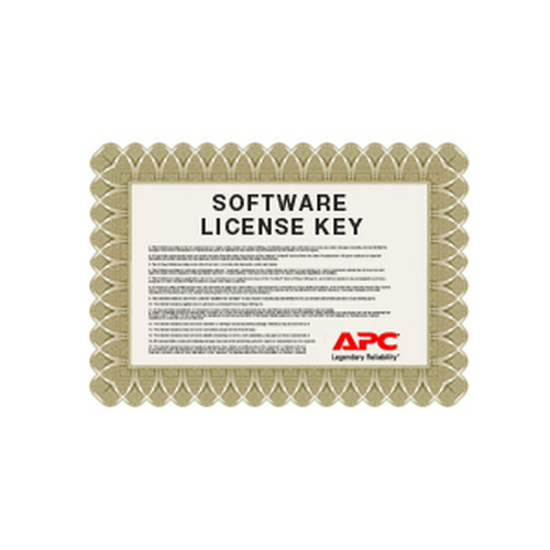 APC NBWN0006 software license/upgrade 5 license(s)