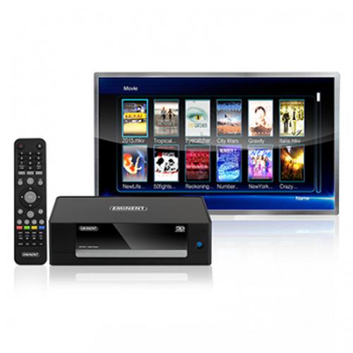 Eminent EM7485 digitale mediaspeler Zwart Full HD 1920 x 1080 Pixels