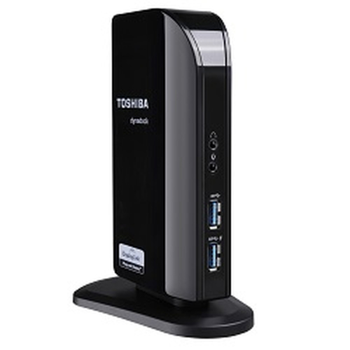 Toshiba Dynadock V3.0+ USB 3.0 (3.1 Gen 1) Type-A Black