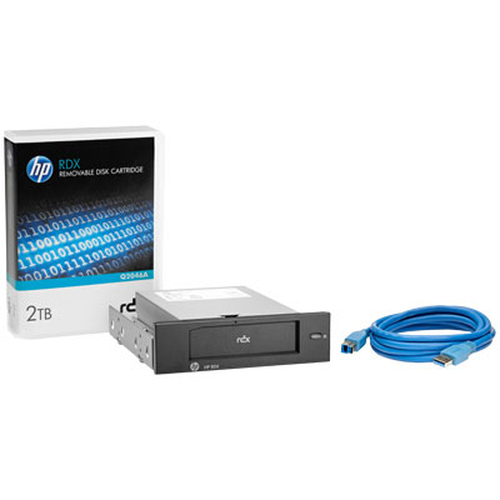 Hewlett Packard Enterprise RDX 2TB USB3.0 Internal Disk Backup System tape drive 2000 GB