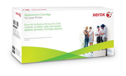 Xerox Zwarte toner cartridge. Gelijk aan Brother DR3100. Compatibel met Brother DCP-8060/DCP-8065DN, HL-5240, HL-5250DN/HL-5270D