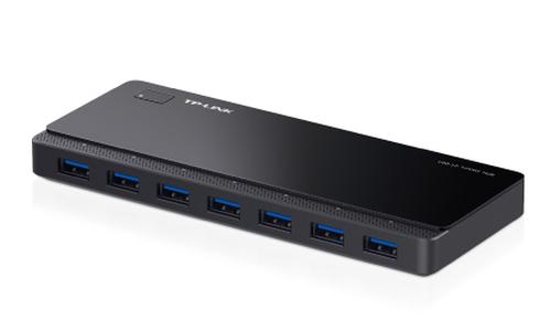 TP-LINK UH700 5000Mbit/s Zwart hub & concentrator