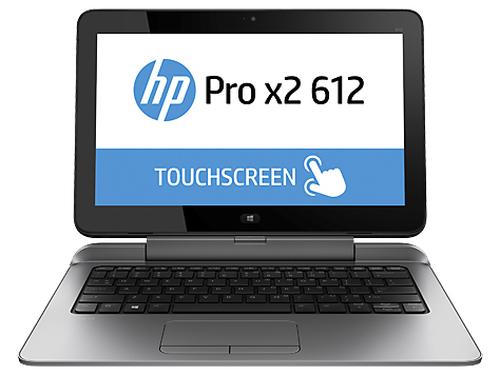 """HP Pro x2 612 G1 Hybride (2-in-1) 31,8 cm (12.5"""") Touchscreen Vierde generatie Intel® Core™ i5 4 GB DDR3L-SDRAM 128 GB SSD Wind"""