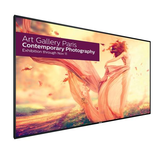 "Philips Signage Solutions BDL9870EU/00 Digital signage flat panel 98"" LED 4K Ultra HD Zwart beeldkrant"