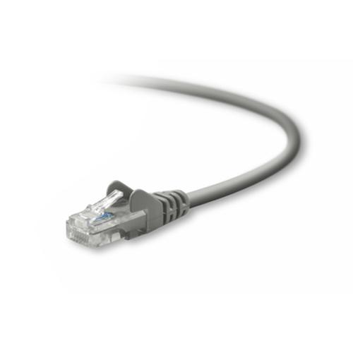 Belkin UTP CAT5e 3m 3m Cat5e U/UTP (UTP) Grijs netwerkkabel