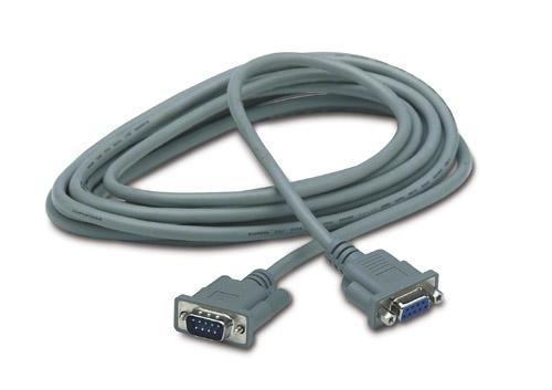 APC DB9 5m 5m DB9 DB9 Grijs seriële kabel