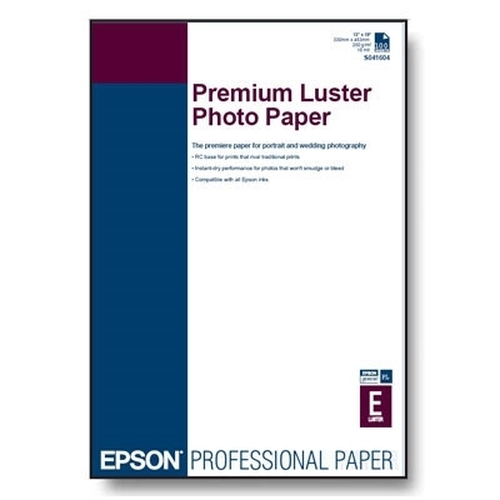 Epson Premium Luster Photo Paper, DIN A4, 260g/m²