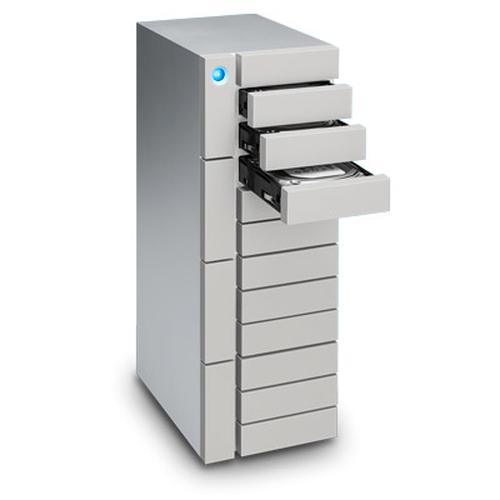 LaCie 48TB 12big Thunderbolt 3 48000GB Desktop Zilver disk array