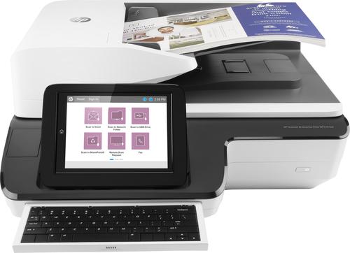 HP Scanjet Enterprise Flow N9120 fn2 600 x 600 DPI Flatbed-/ADF-scanner Zwart, Wit A3