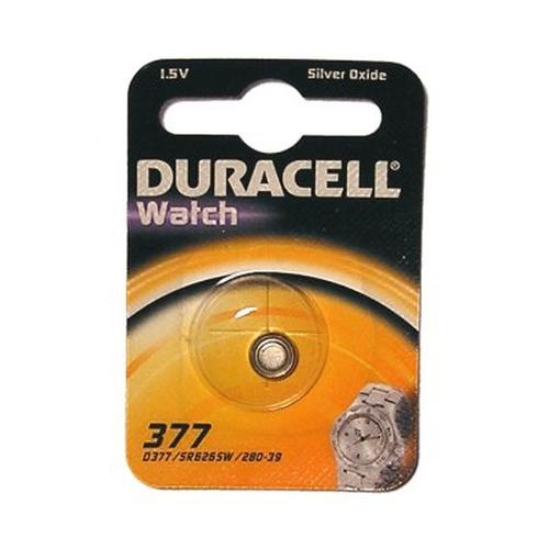 Duracell D377 Wegwerpbatterij Zilver-oxide (S)
