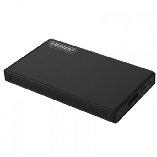 "Eminent 2.5"" eSATA HDD Enclosure Zwart 2.5"""