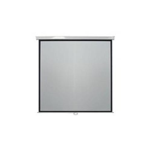 Metroplan Leader Manual Wall Screen 1:1 Black,White projection screen