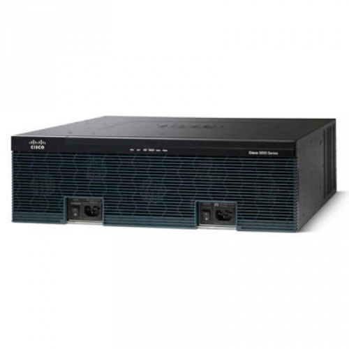 Cisco 3925E Ethernet LAN Black wired router