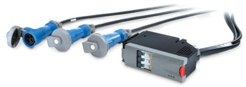 APC PDM1332IEC-3P energiedistributie Zwart, Blauw, Grijs