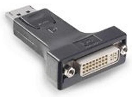PNY QSP-DPDVISL DVI-I Display Port Zwart kabeladapter/verloopstukje