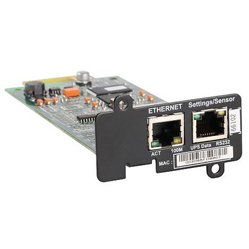 IBM LCD UPS Network Management Card Intern Ethernet 100Mbit/s netwerkkaart & -adapter
