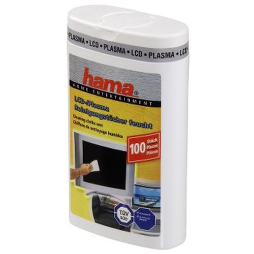 Hama 00049644 LCD/TFT/Plasma Equipment cleansing wet cloths equipment cleansing kit