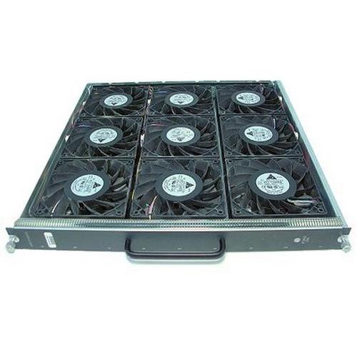 Cisco WS-C6513-E-FAN= Zwart, Chroom Koeling accessoire