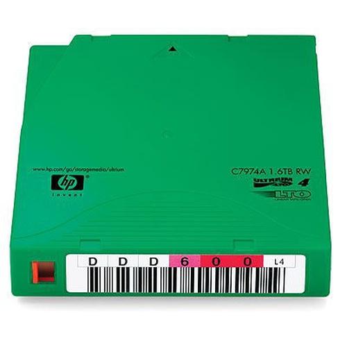 Hewlett Packard Enterprise C7974AN lege datatape 800 GB LTO 1,27 cm