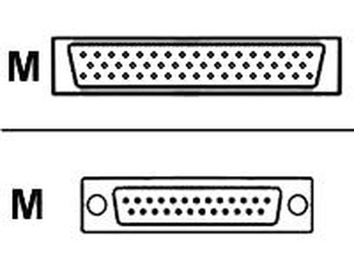 Cisco CAB-SS-530AMT= seriële kabel Blauw