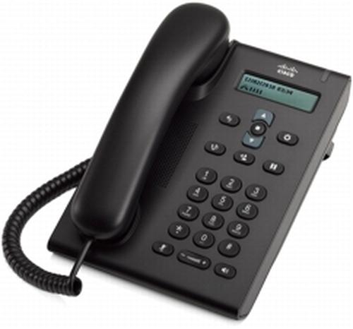 Cisco 3905 Analoge telefoon Nummerherkenning Chocolade