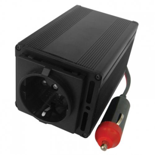 Eminent 150W Power Inverter 12V to 230V netvoeding & inverter Auto Zwart